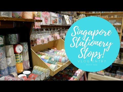 Singapore Weekend: Must-visit Stationery Stops in Singapore