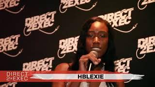 Hblexie Performs at Direct 2 Exec Atlanta 6/30/18 - Atlantic Records