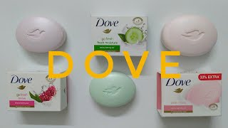 Dove Soap Review | Which one is the Best ??? Are these different ??? | Soap Review | Voguishyou