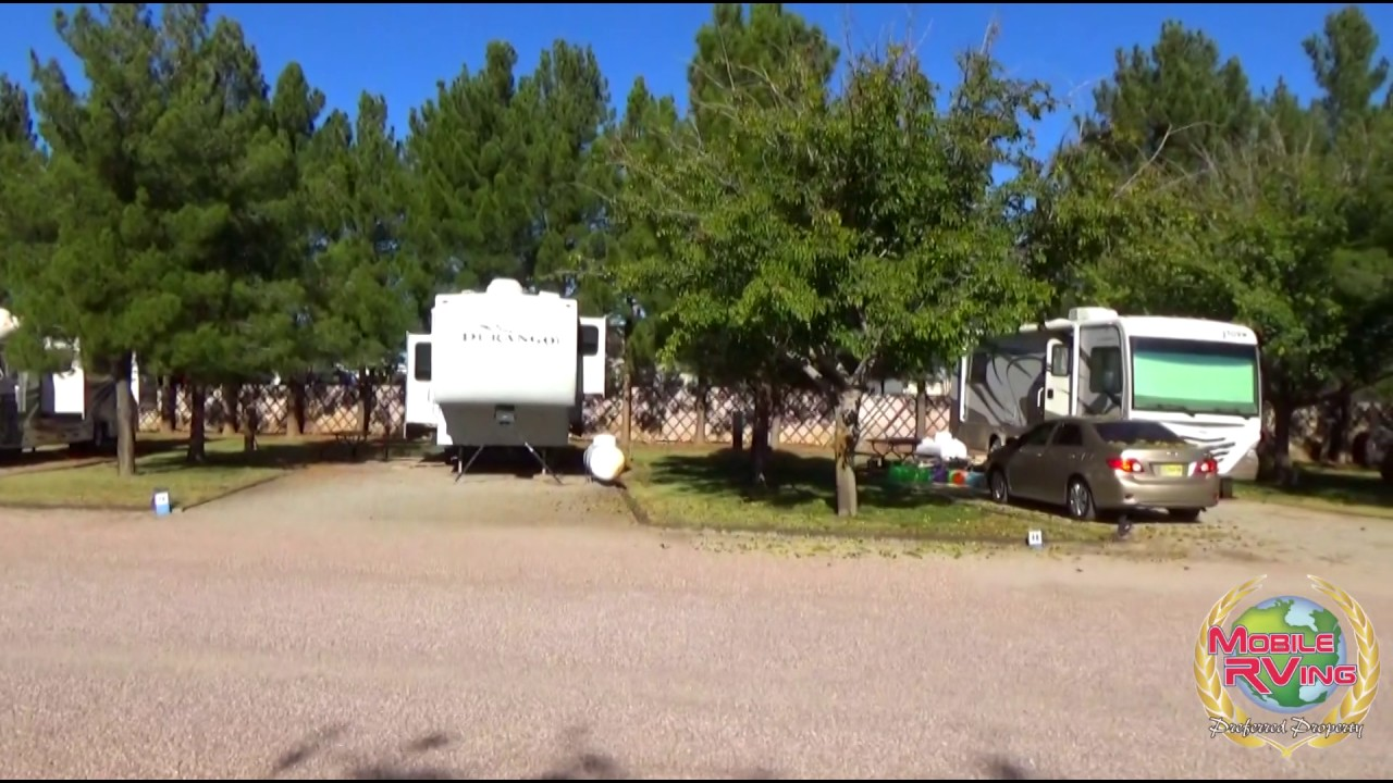 Sunny Acres RV Park Las Cruces New Mexico