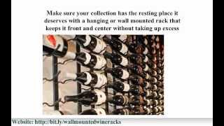 Find Hanging And Wall Mounted Wine Rack Atlanta
