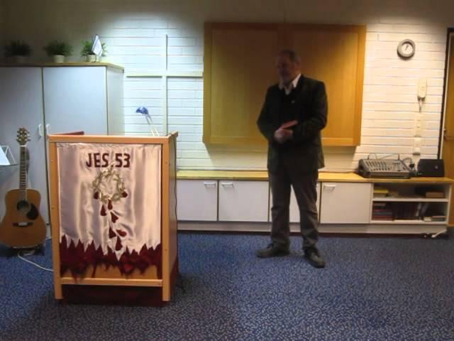 Mikä on Jumalan seurakunta?  Puhe Turussa 15.3.2014. Weijo Lindroos