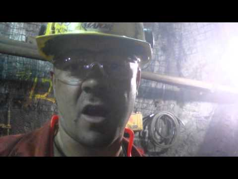 Millwright underground run though of tool