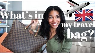 WHAT'S IN MY TRAVEL BAG?  |  Travel Essentials for 2018  |  KWSHOPS
