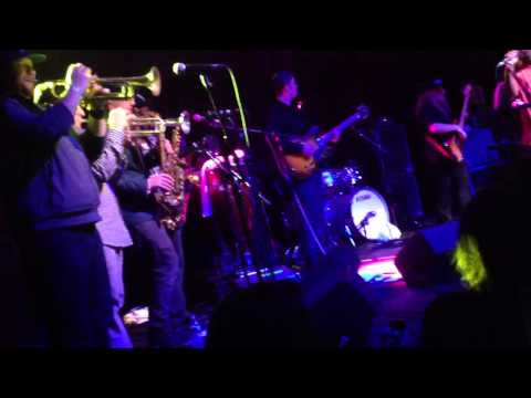 Lettuce Live @Brooklyn Bowl - Royal Family Holiday Party - Sam Huffs Flying Raging Machine12/13/12