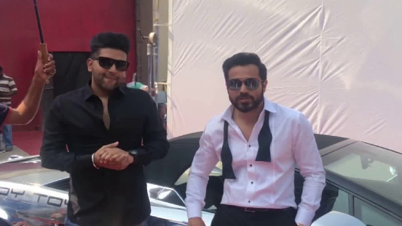 Emraan Hashmi And Guru Randhawa Spotted Shooting For The Upcoming Song For Cheat India