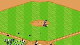 World Series Baseball Atlanta Braves vs Cleveland Indians Sega Genesis / Mega Drive