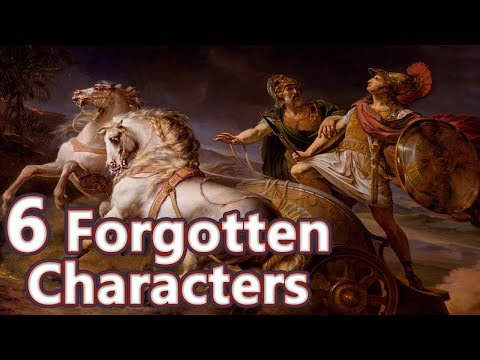 6 Forgotten Characters from Greek Mythology - Mythological Curiosities #04 See U in History