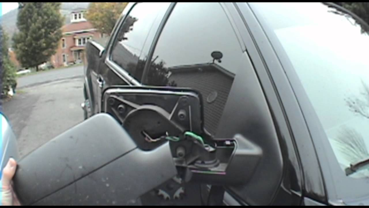 04 08 ford f 150 mirror dissassemble instructional [ 1280 x 720 Pixel ]