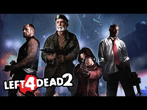 Left 4 Dead 2 — ВЗРЫВ БЕНЗАКОЛОНКИ! ЗОМБИ ПРОТИВ ЛЮДЕЙ!