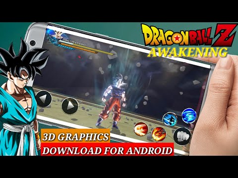 Dragon Ball Z Awakening || 3D Graphics || Download For Android || In Hindi