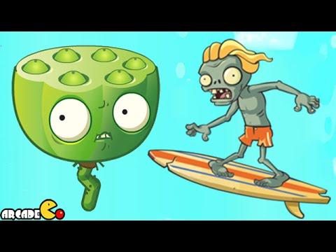 Surfer zombie pvz 2