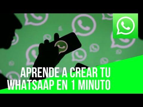 Como Crear tu Cuenta Whatsapp 2018 (Tienes que Verlo)