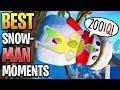 Best Fortnite 'SNOWMAN' Moments! (Best Snowman Plays!)