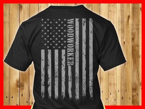 Proud Wood worker Graphic Screen Printed Tshirt