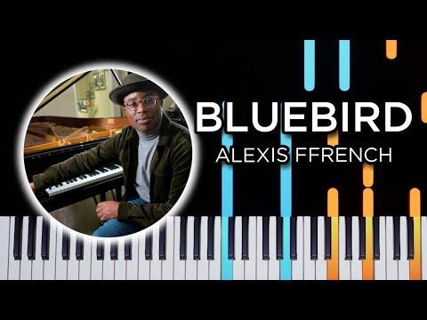 Bluebird (Alexis French) - Piano tutorial