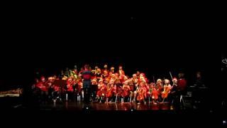 Uddevalla kulturskola Julkonsert 2011 005.MOV Tomte-orkestern