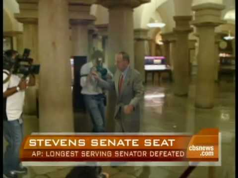 Ted Stevens Defeated