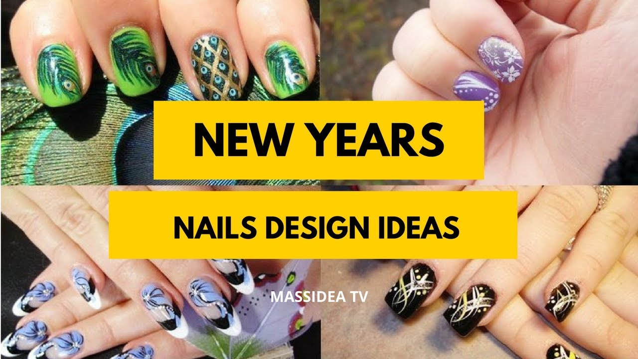 50+ Awesome New Years Nails Design Ideas 2018 - YouTube