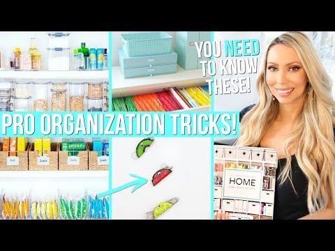 10 BEST Organization Tricks from Professional Organizers!