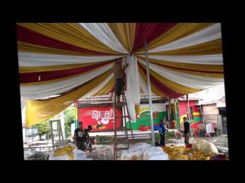 rental tenda pernikahan dekorasi 0812.862.03076 - youtube