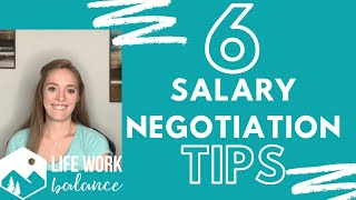 6 Salary Negotiation Tİps - After You Receive a Job Offer