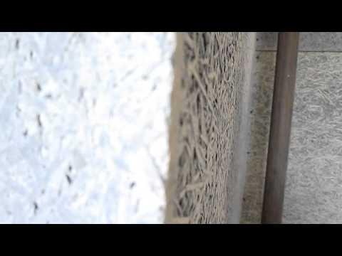 Внутренняя отделка дачного дома фиброцементными плитами ГринБорд