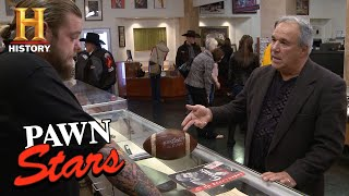 Pawn Stars: Football from First Hall of Fame Game | History