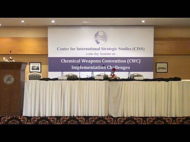 01 - Seminar on CWC Implementation Challenges
