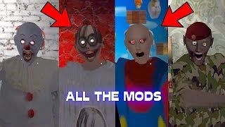 Compilation of all the mods of granny. To be continued with new mod...