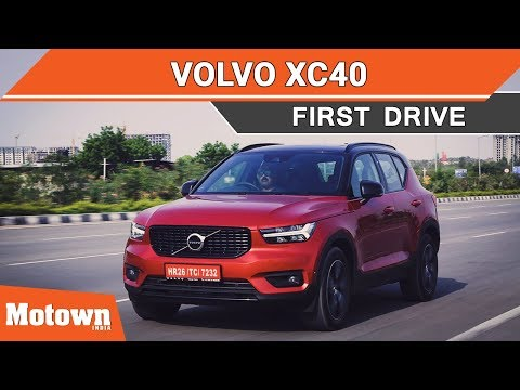 Volvo XC40 SUV First Drive