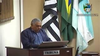 21ª Sessão Ordinária - Vereador Mineiro