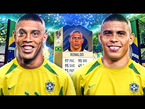 OMG PRIME ICON 96 RONALDO AND DINHO! THE FULL ICON SQUAD! FIFA 18 ULTIMATE TEAM thumbnail