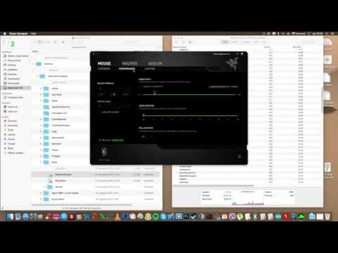 How to run Razer Synapse for OS X El Capitane 10 11 1 - YouTube
