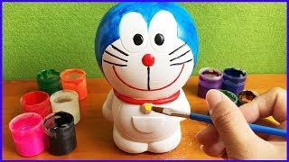 Đồ chơi trẻ em TÔ TƯỢNG MÈO Ú ĐÔRÊMON THÔNG MINH, Color Painting Doraemon (Chim Xinh)