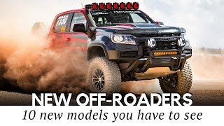 10 New Trucks and Offroad-Capable SUVs to Go Into Production in 2020