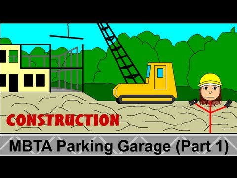 Leominster: New MBTA Parking Garage (Part 1)
