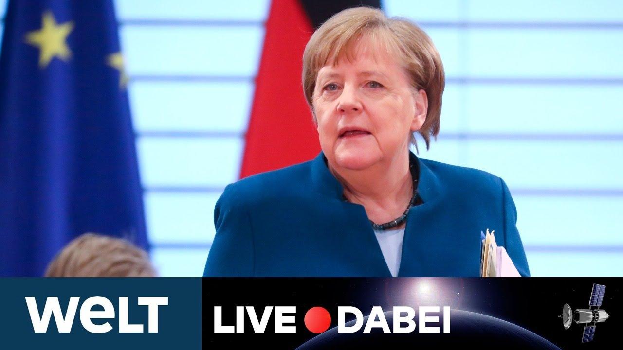 KAMPF GEGEN CORONAVIRUS: Regierungserklärung von Kanzlerin Merkel zur Corona-Krise