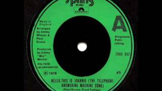 Paul Evans - Hello This Is Joannie (Telephone Answering Machine Song) [HQ Audio]