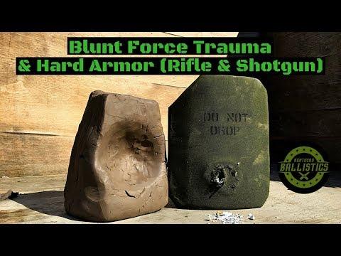 Blunt Force Trauma & Hard Armor