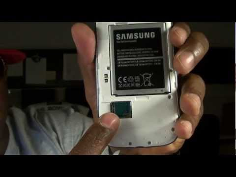 SAMSUNG GALAXY S3 (Sprint) Unboxing And First Impressions
