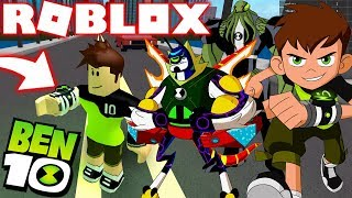 Roblox! - NOVOS ALIEN-GENAS AMALGAM BEN E GAX OMNITRIX BEN 10 REBOOT ! - BEN 10 JEUX DE COMBAT