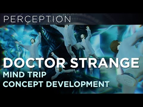Doctor Strange Mind Trip Concept Development