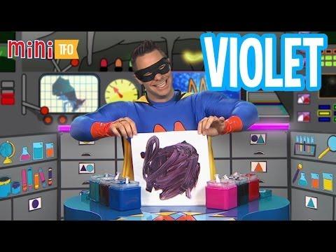 Super Mini crée des couleurs : Violet
