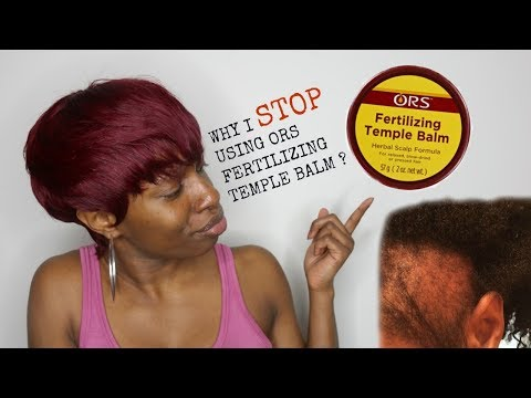 The Truth about ORS Fertilizing Temple Balm w/ Rosemary Oil 🤦🏽‍♀️