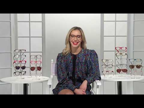 Jenn Falik Flaunts her Fave Reading Glasses on 'Coffee with America'