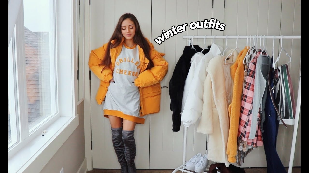 WINTER OUTFITS 2018 | BooHoo 1