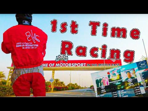 Gopro Hero 5 Bahrain International Karting Circuit Driving Experience