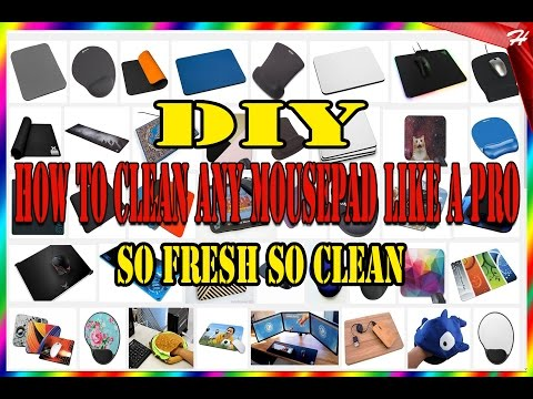 DIY | How To Clean Your Mouse Pad Like A Pro | Haight