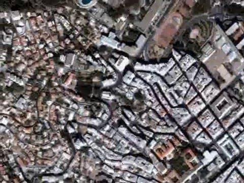 Alger par satellite
